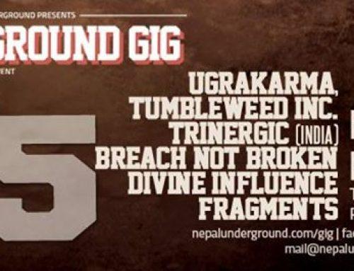 Flyer Design for NepalUnderground